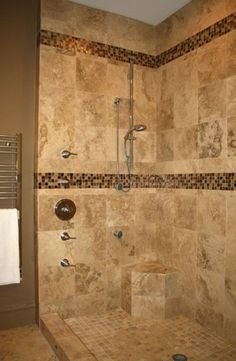 Shower tile - Click image to find more Home Decor Pinterest pins