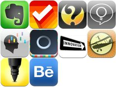 CREATIVITY: 10 Apps for Creativity @bizolly #Entrepreneurs #Innovation #Inspiration