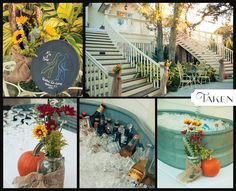 taken-photography.com  Beautiful Fall Wedding at The Tybee Wedding Chapel!