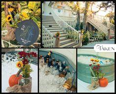 taken-photography.com  Beautiful Fall Wedding at The Tybee Wedding Chapel!