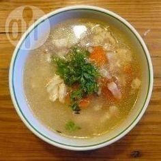 Canja de galinha @ allrecipes.com.br