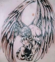 Znalezione Obrazy Dla Zapytania Tatuaż Upadły Anioł Dziara