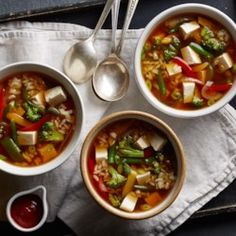 Miso Vegetable Soup - EatingWell.com