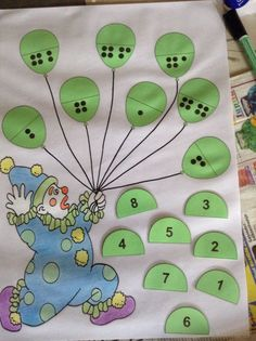 Brojevi do 10 Math Activities For Kids, Math For Kids, Math Games, Preschool Activities, Teaching Kids, Circus Theme, Montessori Activities, Kids Education, Kids And Parenting