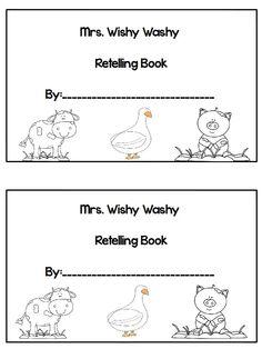 Mrs.Wishy Washy Freebie! blog.printableprompts.com