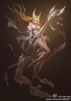 精品原畫丨國內畫師G-host-Lee 作品欣賞 : 歌穀穀