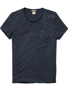 crew neck nap jersey short-sleeved tee | T-shirt s/s | Men Clothing at Scotch & Soda