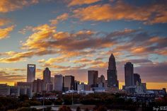 from EarthCaptured Photography via Brad Panovich Tonight's Colorful sunset in Charlotte. — with Juanetta Covington. Like ·  · Shar