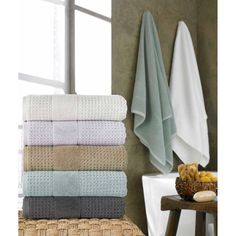 Bring the luxury of a Turkish Spa into your home inspired by the original Turkish baths of Istanbul.  These towels are luxuriously soft, incredibly absorbent and are crafted in a beautiful waffle texture that will enhance your bathing experience.