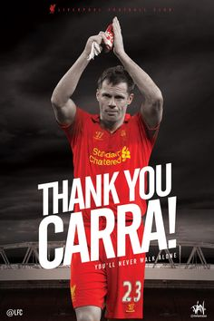 Jamie Carragher to retire at the end of the 2012/13 season. A true #legend of #LFC who gave his all for the cause!