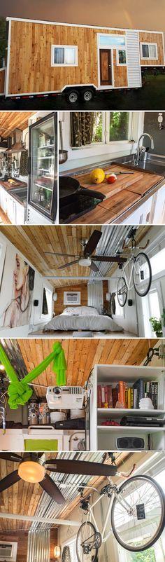 The Terraform tiny house (250 sq ft)