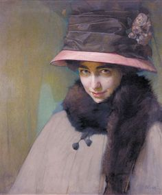 Portrait of Ballerina Tamara Karsavina (1911). Alfred Eberling (Russian, 1872-1951). Oil on canvas. Karsavina was a prima ballerina at the Royal Theater in St. Petersburg and a legendary beauty. From...