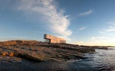 Fogo Island Inn, Newfoundland, Canada. National Geographic names the most unique lodges in the world - Vogue Living