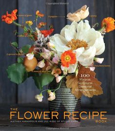 The Flower Recipe Book : Althea Harampolis and Jill Rizzo. I NEED this book :)