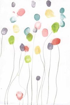 fleurs empreintes