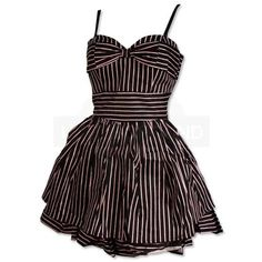 Undergroundstore - Bow Dress Black / Pink Bow Dress Black / Pink ($105) ❤ liked on Polyvore