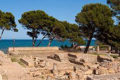 jaciment romà a Empuries  Girona