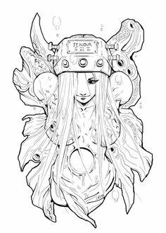 New Jenova artwork by Crimson Sun - Final Fantasy VII