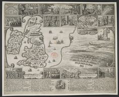 size: Giclee Print: Map of Civil War England and a View of Prague, 1632 by Wenceslaus Hollar : Toronto Library, Medieval Paintings, Fine Art Prints, Canvas Prints, Picture Places, Affordable Wall Art, Art Reproductions, Find Art, Photo Wall Art
