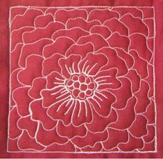 The Free Motion Quilting Project: Day 94 - Flower Ball