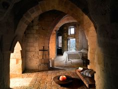 9,000 year old dwellings in Matera, Italy. This hotel of caves could get me to be a troglodyte for awhile...  sextantio_della_civita_design_hotels-2