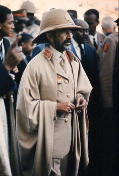 Haile Selassie I African Men, African American History, Rastafari Art, History Of Ethiopia, Rastafarian Culture, Black King And Queen, Defender Of The Faith, Black Royalty, Haile Selassie