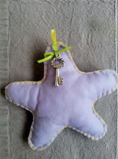 Handmade Christmas star Christmas Star, Handmade Christmas, Dinosaur Stuffed Animal, Unique, Animals, Animales, Animaux, Animal, Animais