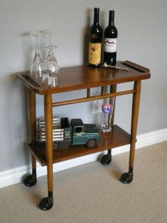 Lovely Mid Century Drink Cart