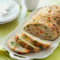 Chicken-Vegetable Meatloaf
