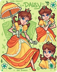 I'm excited that Princess Daisy will be in Super Smash Brothers ultimate! Nintendo Game, Nintendo Super Smash Bros, Nintendo Characters, Mario Fan Art, Super Mario Art, Luigi And Daisy, Mario And Luigi, Mario Kart, Super Mario Brothers