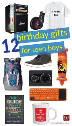 Birthday Gifts For Teen Boys Gadgets Bedroom Decor Men Fashion And