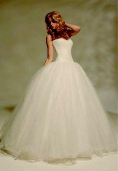Dream dress for a fairy-tale wedding.