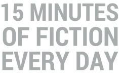 Read a classic: 15 minutes each day will be delivered to your email.