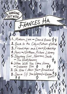 Friday Playlist: Frances Ha, Illustration by Minna.