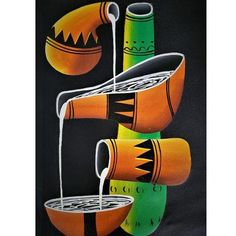 African Culture, Holiday Sales, Acrylics, Artworks, Artisan, Hand Painted, Patterns, Canvas, Gallery