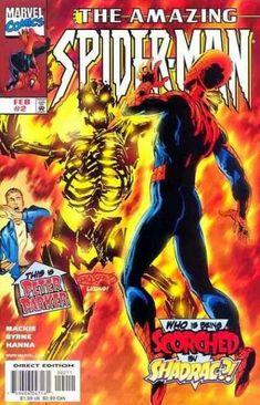 spider man vs firelord spiderman marvel comics comicbooks the