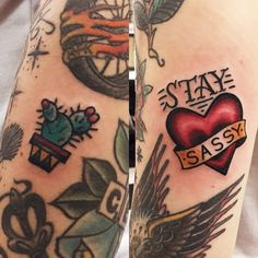 got two new pieces that SCREAM me and I'm in love. thank you so much @williamjackman #staysassy (at Action Tattoo)