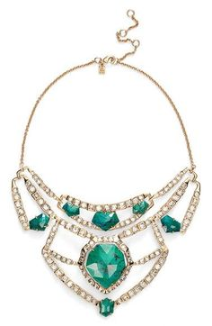 Alexis Bittar 'Miss Havisham' Stone & Crystal Statement Necklace available at #Nordstrom