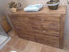 Muebles con palets para el baño – I Love Palets Dresser, Love, Diy, Furniture, Home Decor, Vanity Tops, Drawers, Home Furniture, Swimwear
