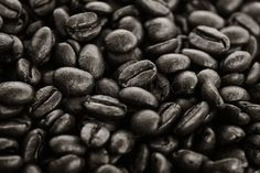 Dark roasted coffee beans,   One photo per day, by Paul Philpot