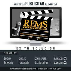 Conócenos somos Rems Media Solutions.