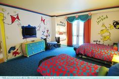 Dr Seuss room, perfect!