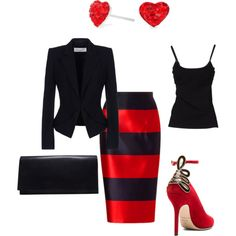 """He's taking her to a nice place for dinner tonight."" by bsimon623 on Polyvore"
