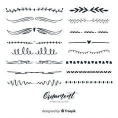 Note Doodles, Fashion Vector, Photos Hd, Bullet Journal Hacks, Drawing Frames, Wedding Ornament, Handwriting Fonts, Ornaments Design, Elements Of Design