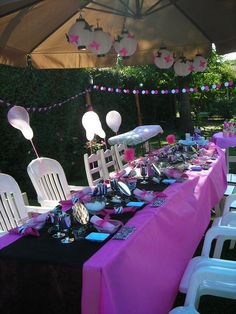 My daugther's Spa Party