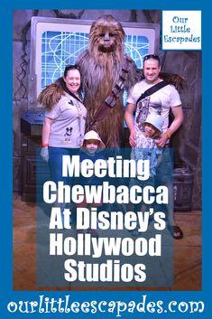 Meeting Chewbacca at Disney's Hollywood Studios Walt Disney World Florida