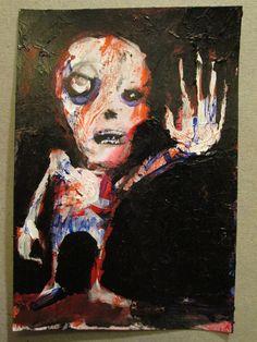 PostPostmortem no 367   original art card by by PostPostMortem, $3.00