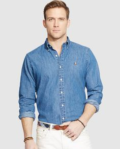 8948b1fd5cb84 Camisa Regular de hombre. FormalCamisas OxfordPolo Ralph LaurenHomensModa Picolés