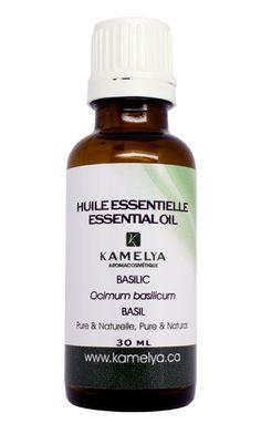 CLIQUEZ SUR L'IMAGE: L'huile essentielle de basilic est vertueuse tant dans le domaine physique que le domaine psychologique et émotionnel. Ses spécialités sont variées allant des troubles digestifs aux troubles nerveux, en passant par le traitement des maux de l'hiver et des douleurs.  On l'utilise pour apaiser les symptômes de l'asthme et de la bronchite. #huileessentielle #aromatherapie #sante #soins