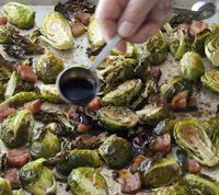 Barefoot Contessa's Brussel Sprouts with Pancetta - these are the best